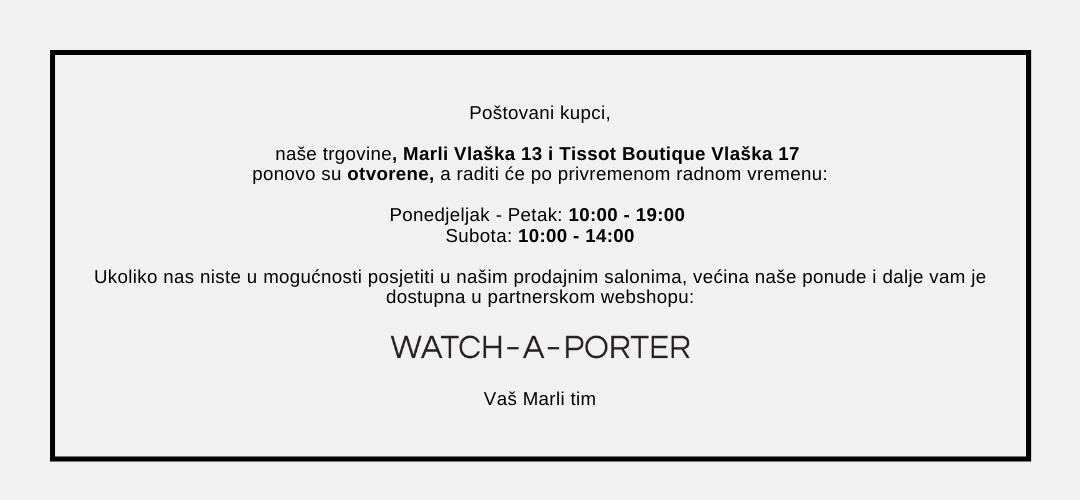 Marli x watch-a-porter.com - posjetite nas na parterskoj on-line platformi